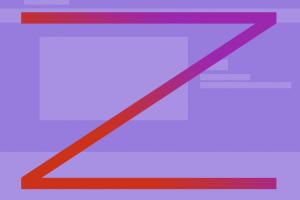 Z型模式创建视觉层次结构的理论和实践