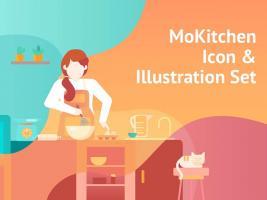 UI8·厨房和烹饪成套插画Sketch