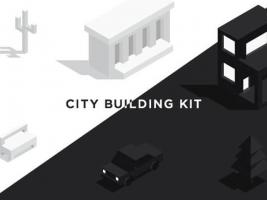 UI8·城市相关建筑插画UI KIT