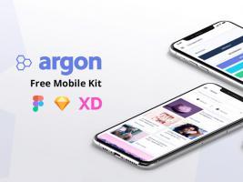 Argon APP通用UI Kit套件