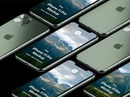 iPhone 11 Pro 高保真手机渲染模型